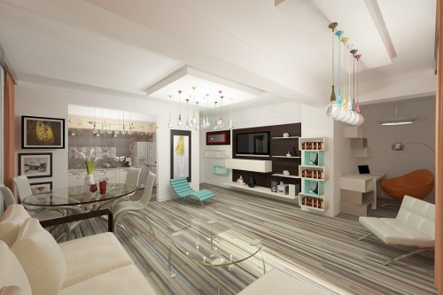Design interior apartament 4 camere